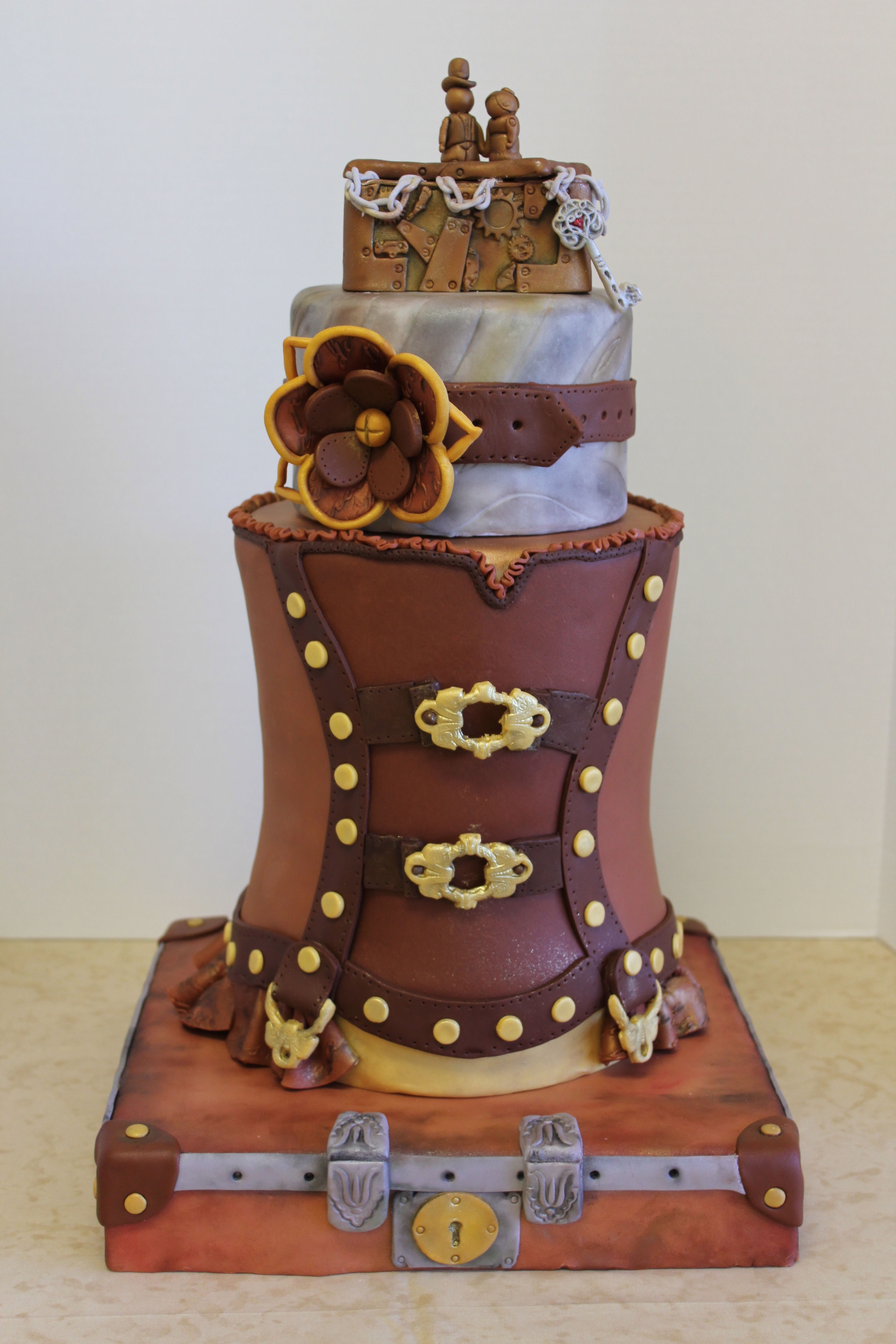 Toontown Wedding Cake