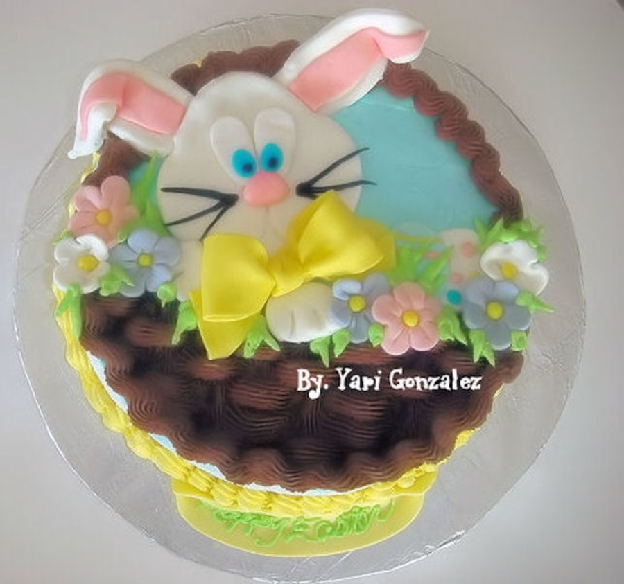 Easter Bunny Cake on Cake Central