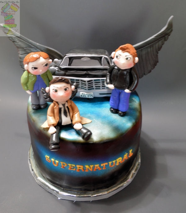 Supernatural Cake Recipe