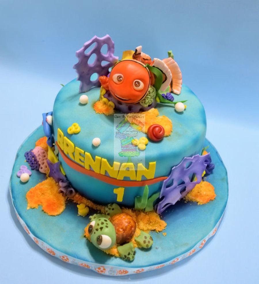 Nemo Cake: Nemo Cake With Squirt Smash
