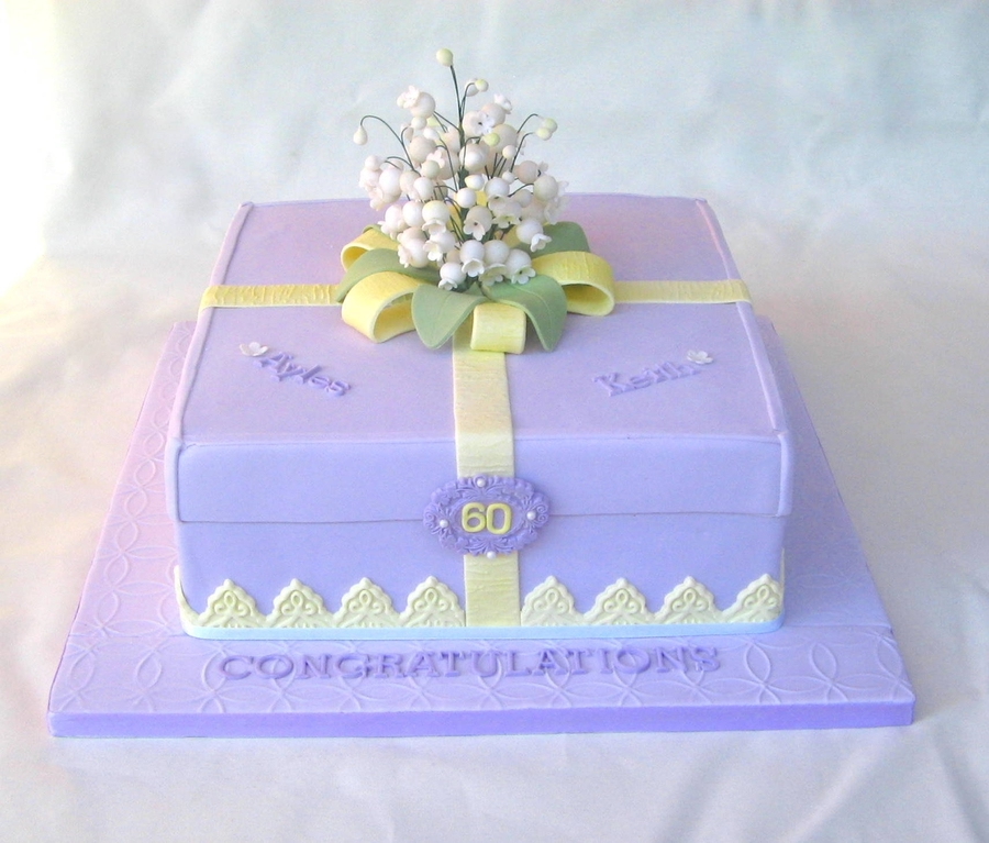 Lily Of The Valley Anniversary on Cake Central