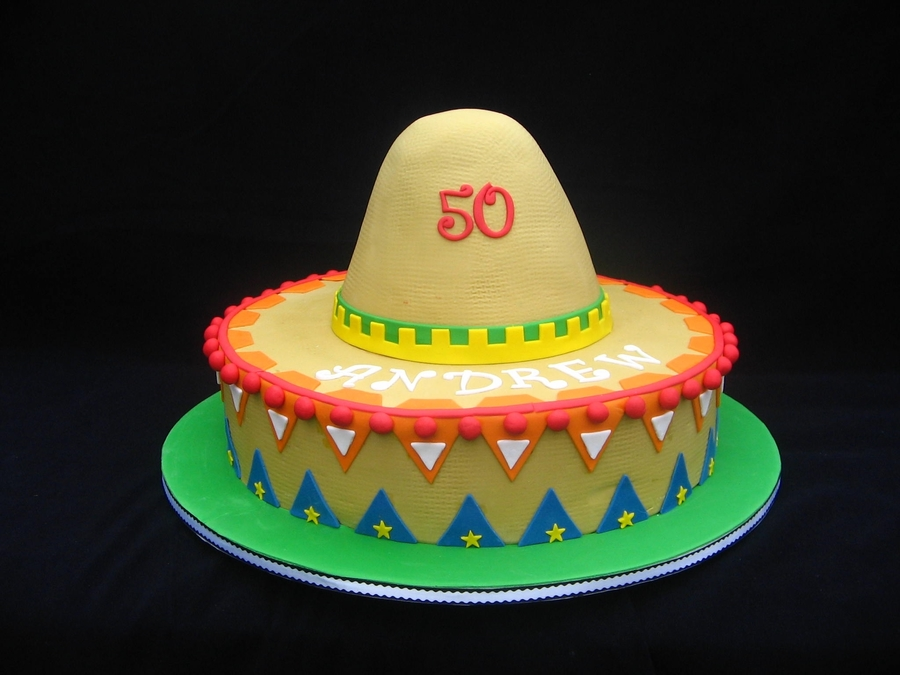 Mexican Hat 2 on Cake Central
