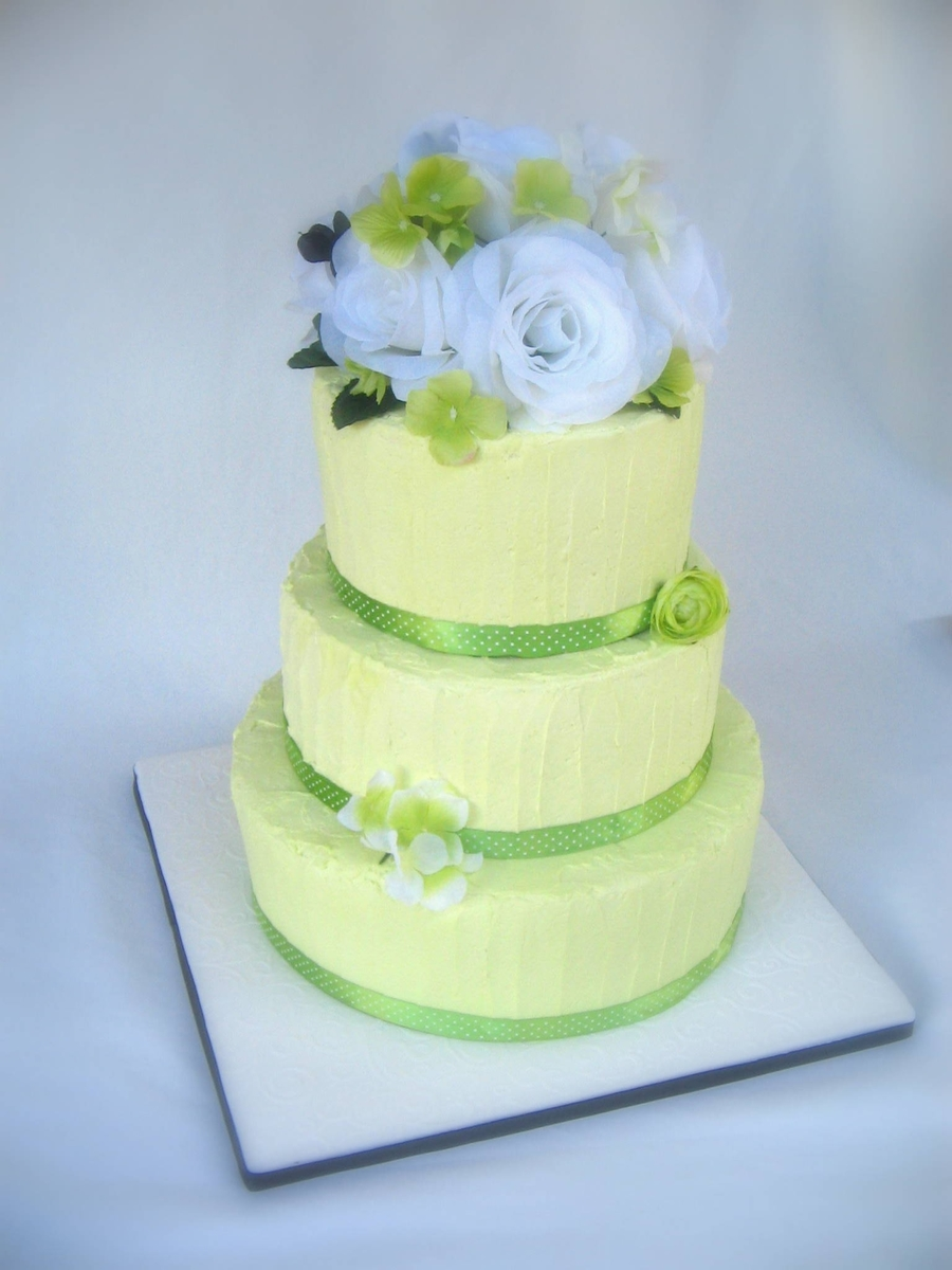 Green Wedding on Cake Central