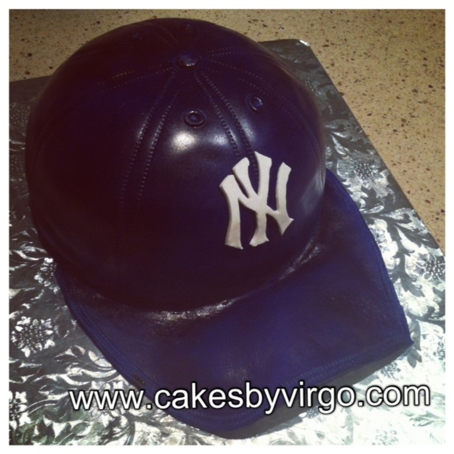 New York Yankees Baseball Cap on Cake Central