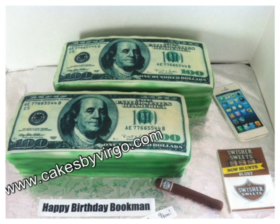 Money Iphone And Swisher Blunt Cake on Cake Central