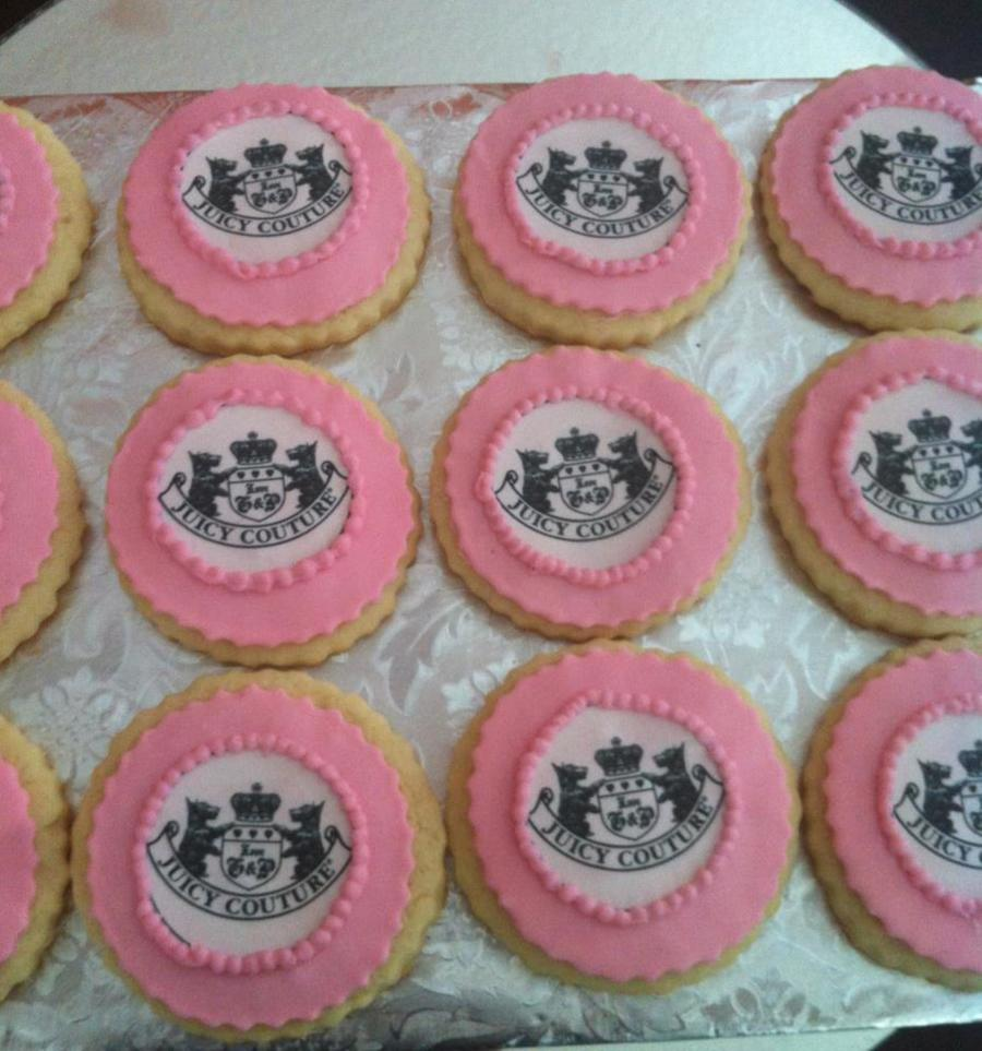 Juicy Couture Cookies on Cake Central