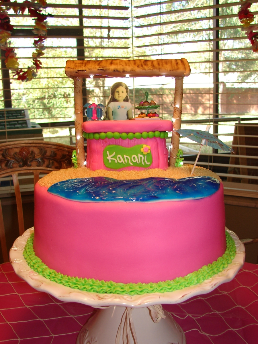 Swell American Girl Doll Kanani Cakecentral Com Personalised Birthday Cards Paralily Jamesorg