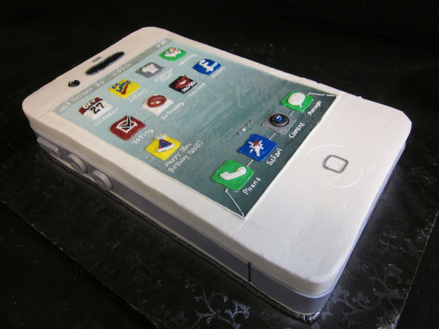 Iphone 4S Cake on Cake Central