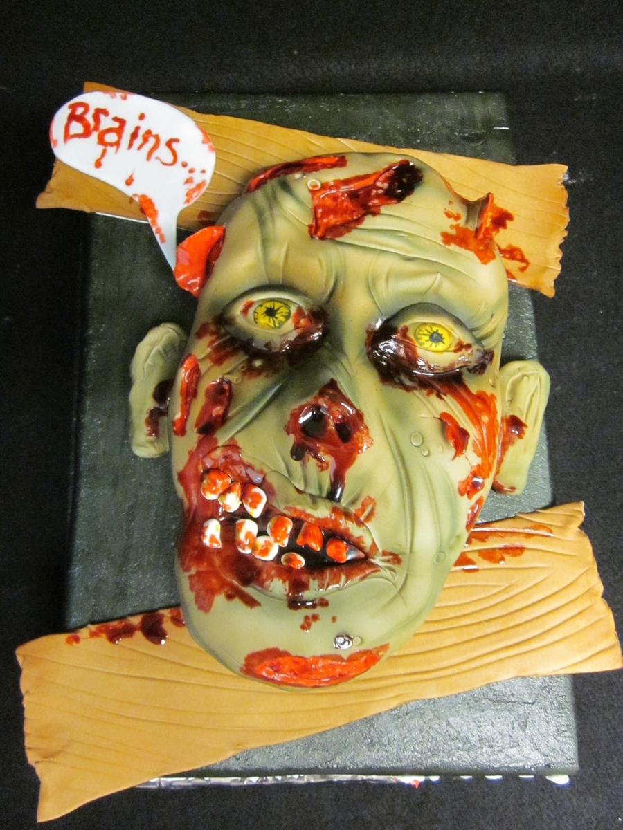 Zombie! on Cake Central