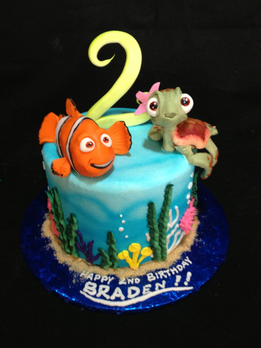 Finding Nemo Cake - CakeCentral.com