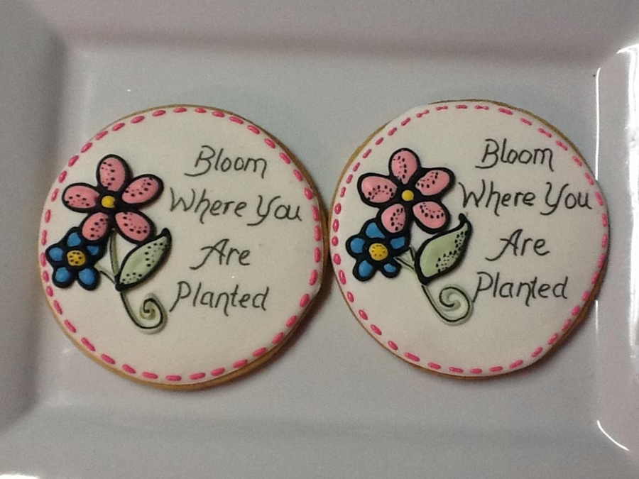 Bloom Cookies on Cake Central