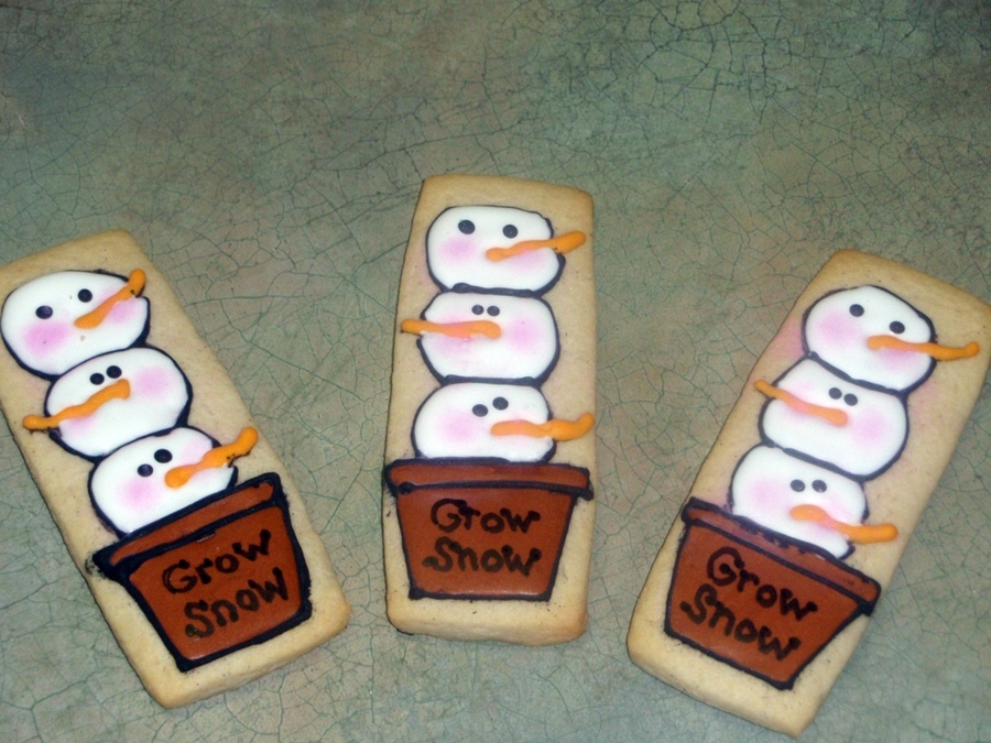 Grow Snow Cookies on Cake Central
