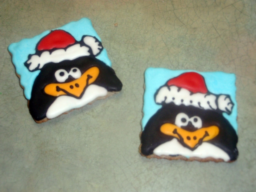 Penguins  on Cake Central