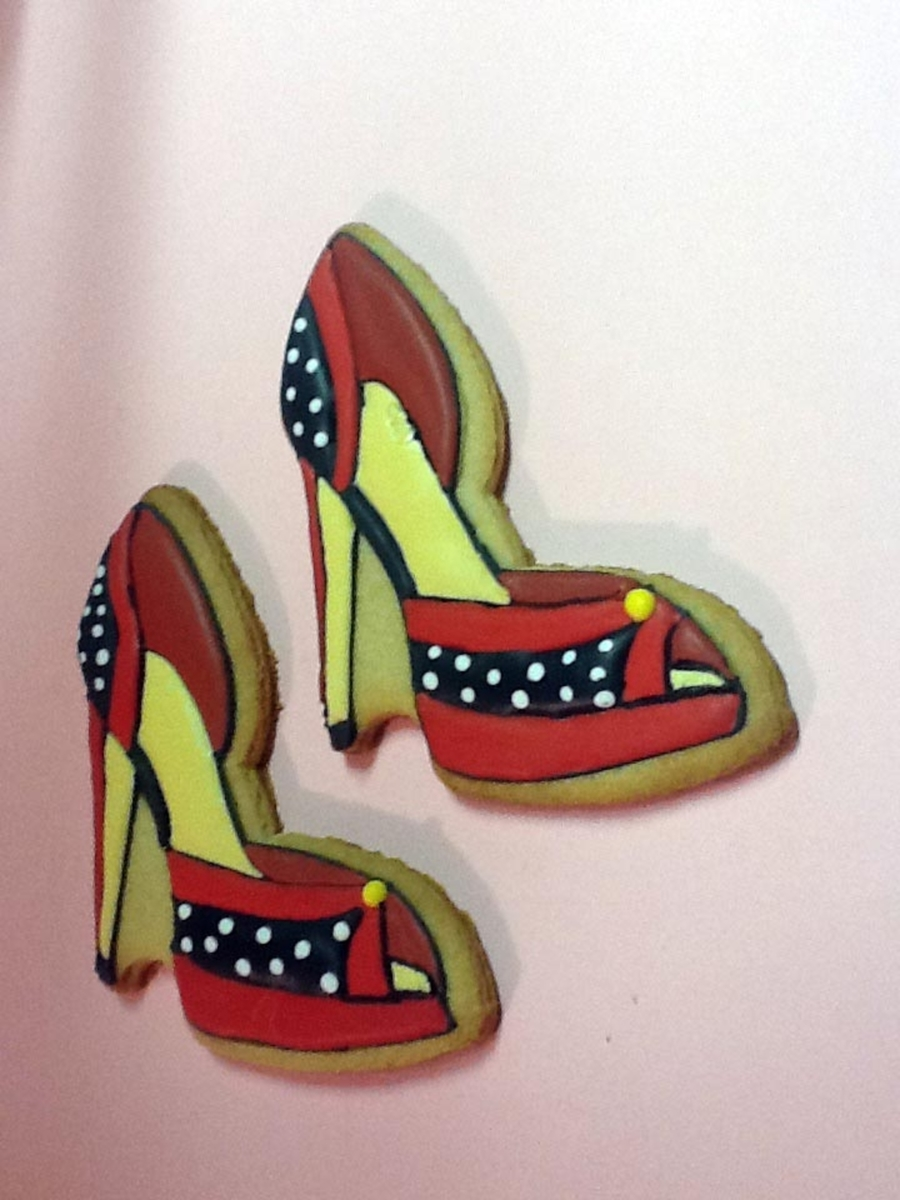 Stiletto Cookies on Cake Central