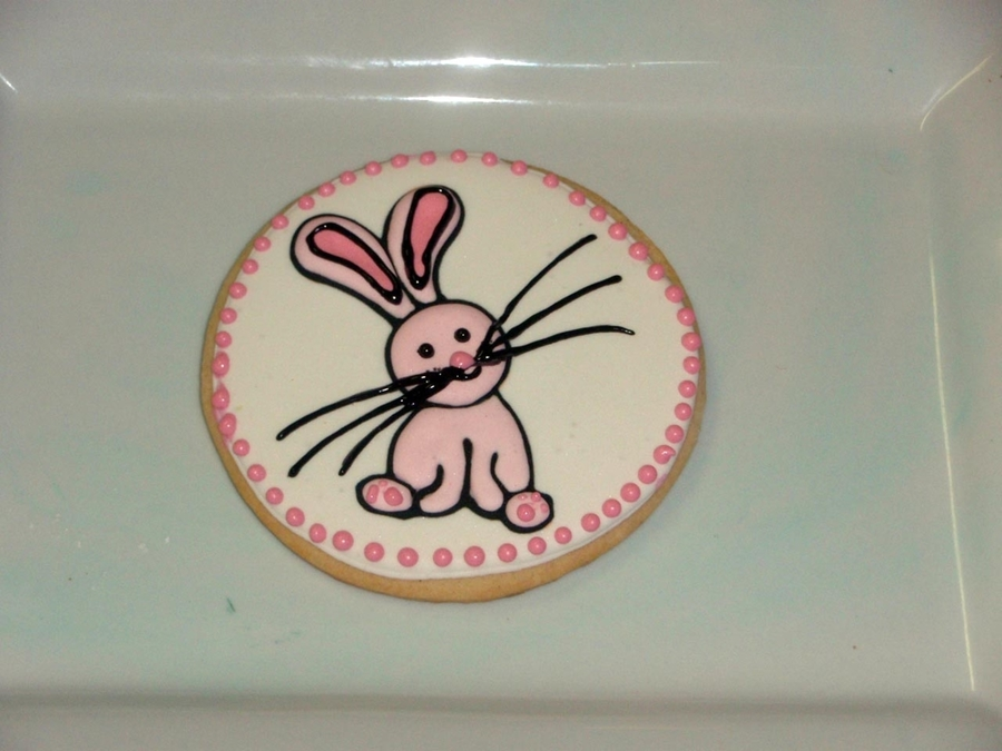Bunny Cookie  on Cake Central