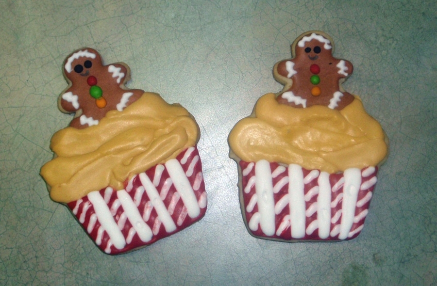 Gingerbread Cupcake Cookies on Cake Central