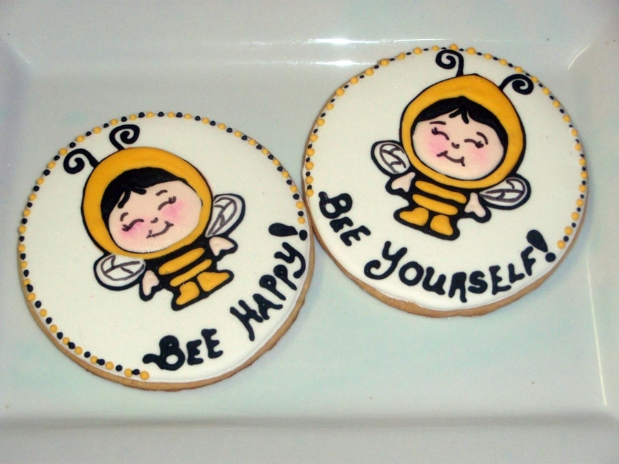 Bee Something Cookies on Cake Central