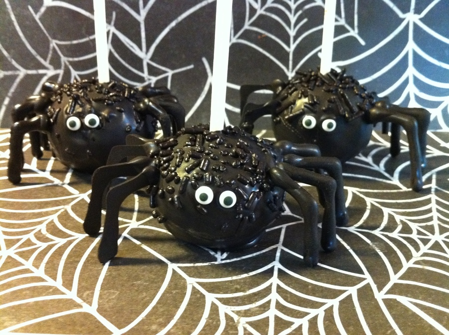 Spooky Spiders on Cake Central