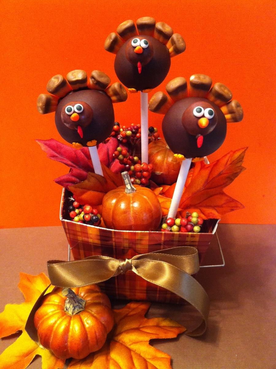 Fall Cake Pops Recipe
