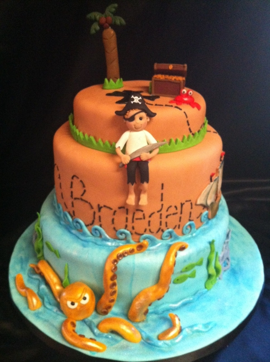 Pirate Figures For Birthday Cakes