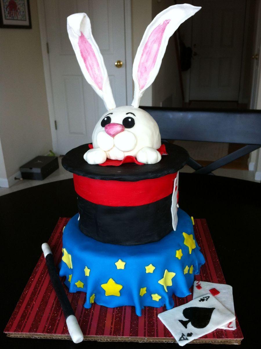 Magician Cake Ideas