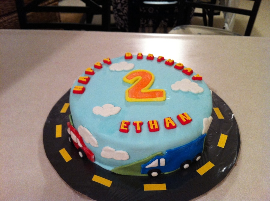I Got A Last Minute Request For A Car Theme Cake Since I
