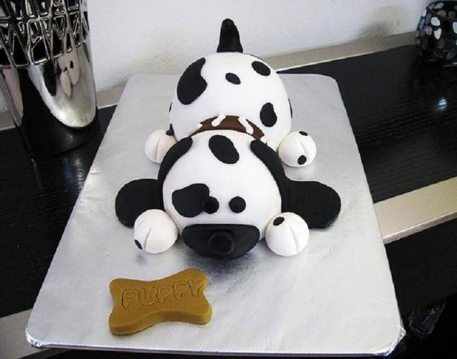 Dog Shaped Birthday Cake Recipe