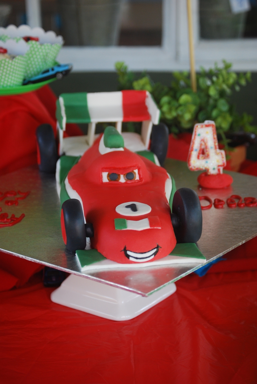 Francesco From Cars 2 on Cake Central