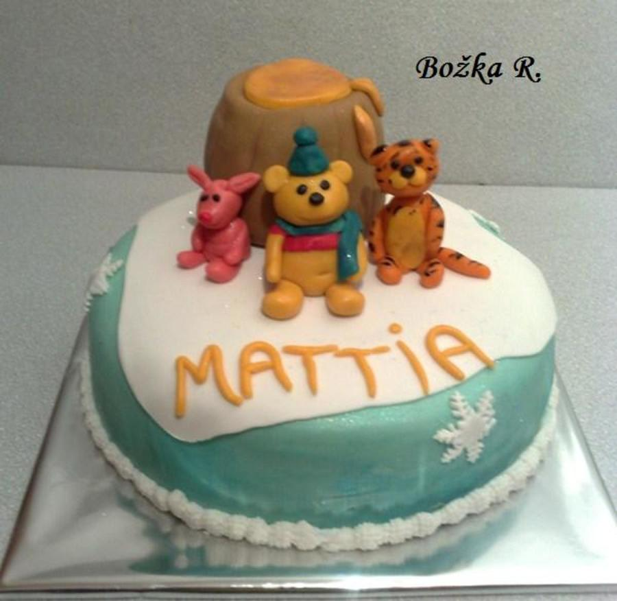 Pooh on Cake Central