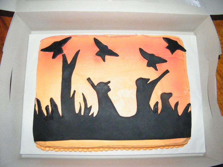 Duck Hunter on Cake Central