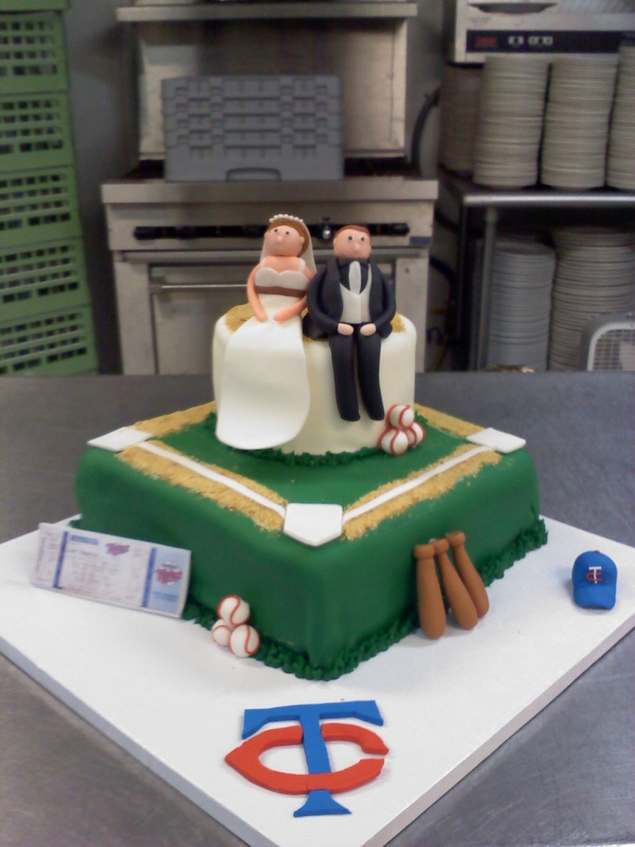 Twins Grooms Cake on Cake Central