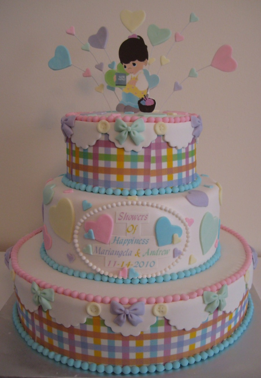 Captivating Precious Moments Baby Shower On Cake Central