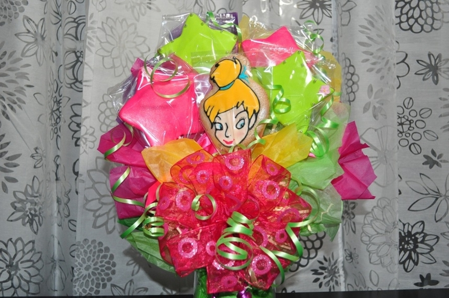 Tink Cookie Bouquet on Cake Central