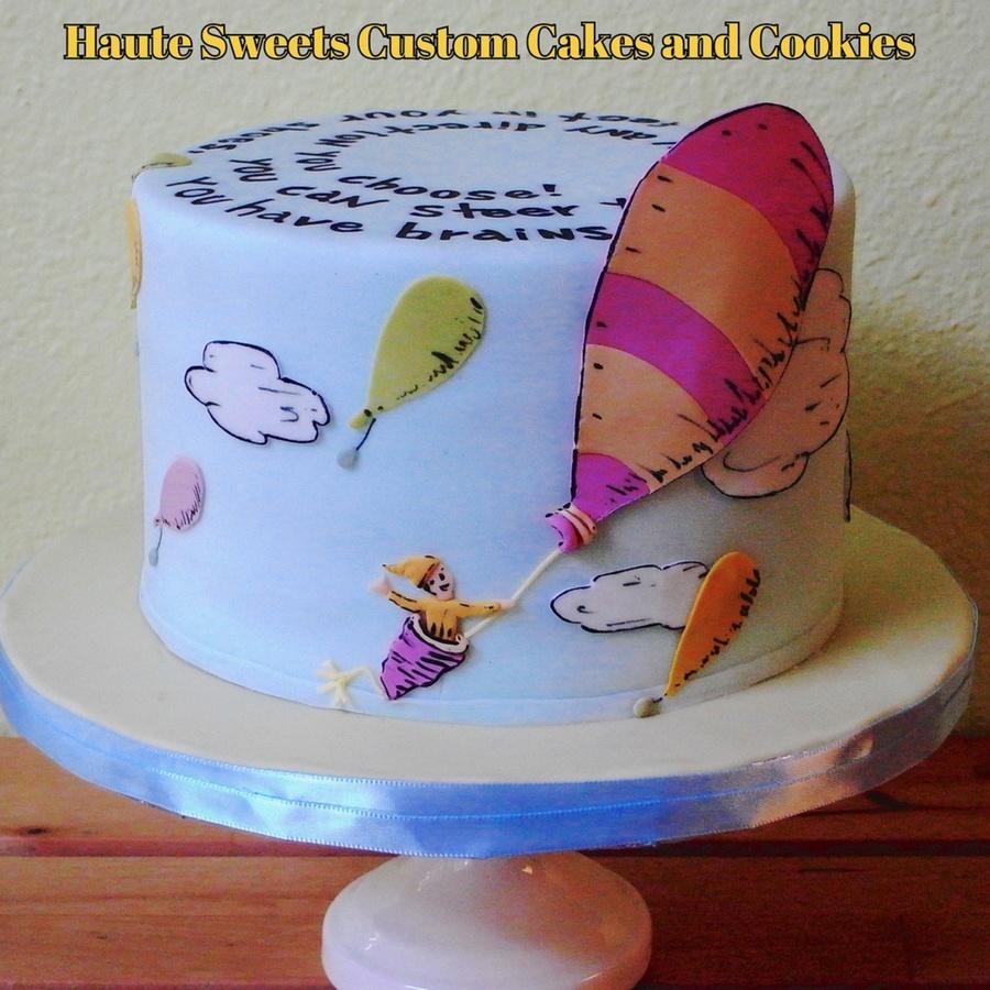 Dr Seuss Baby Cake