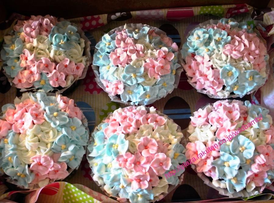 Spring Flower Cupcakes Cakecentral Com