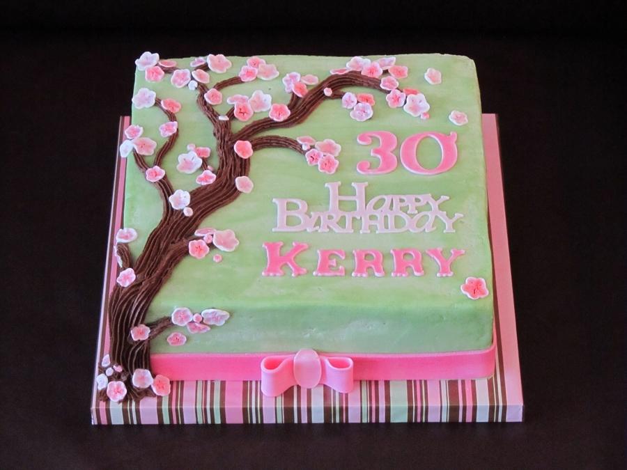 Cherry Blossom Cake Ideas