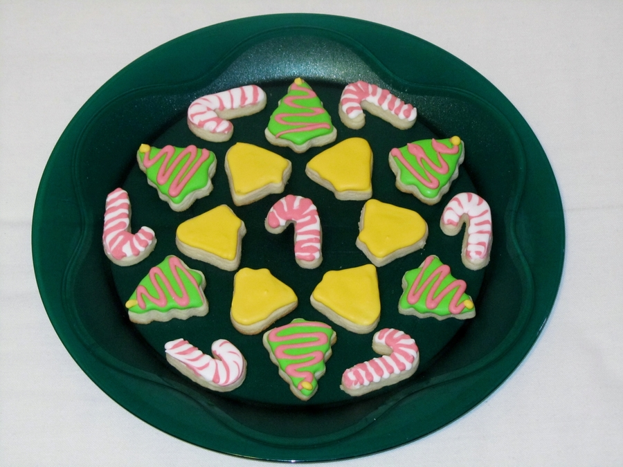 Christmas Sugar Cookie Minis  on Cake Central