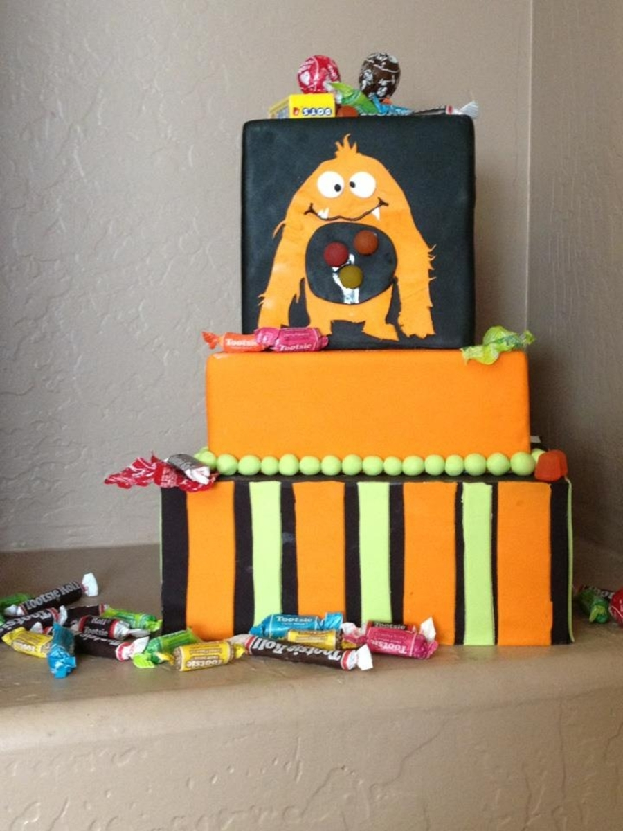 Candy Monster  on Cake Central