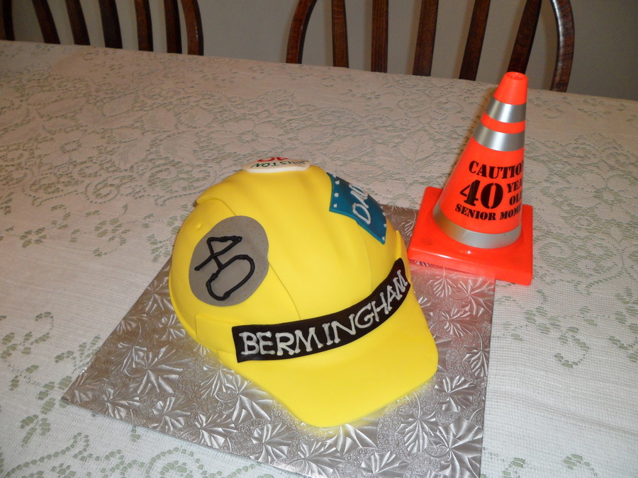 Hard Hat Cake  on Cake Central