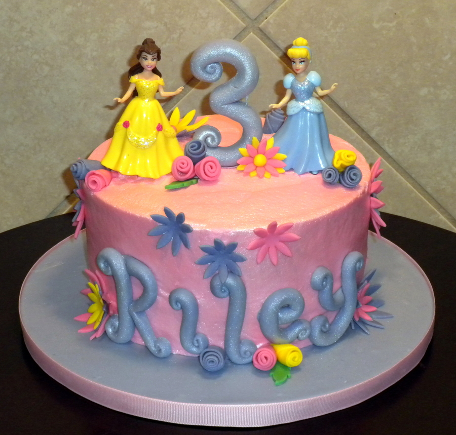Disney Princess Birthday!! on Cake Central