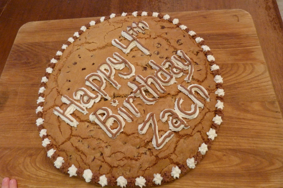Cookie Cake on Cake Central