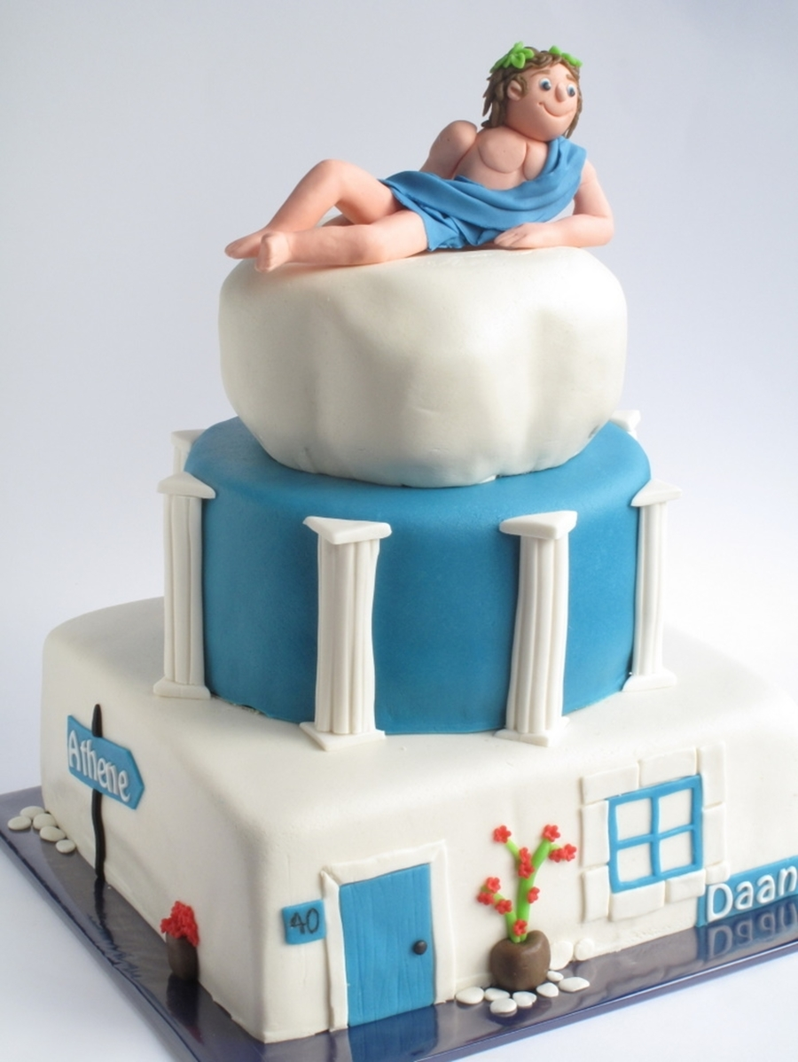 Greek Hunk For My Friend Cakecentral