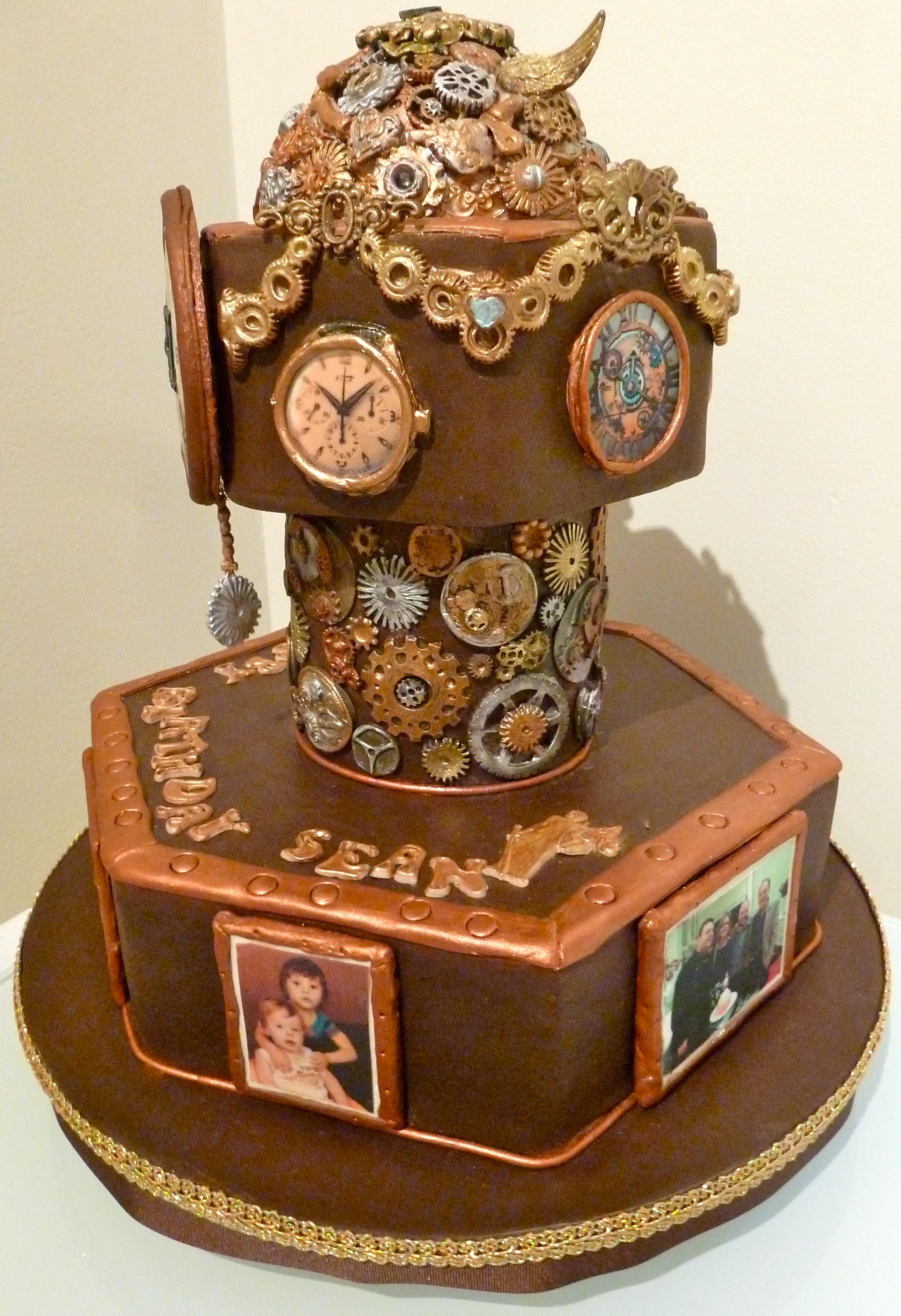 Cake Decorating Steampunk