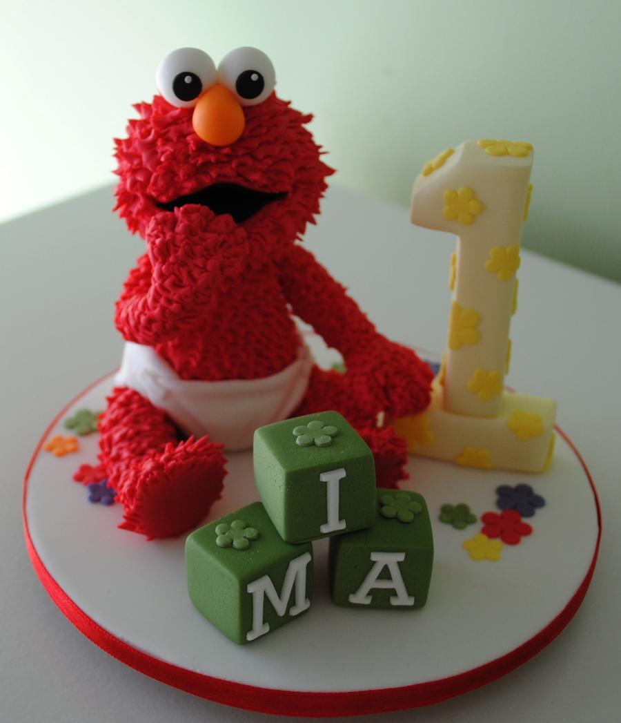 Elmo Cake Topper Tutorial