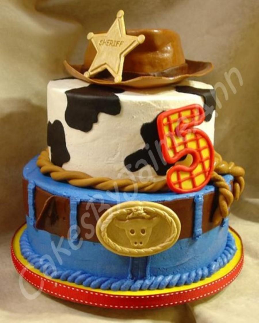 Cowboy Birthday Cake Cakecentral Com
