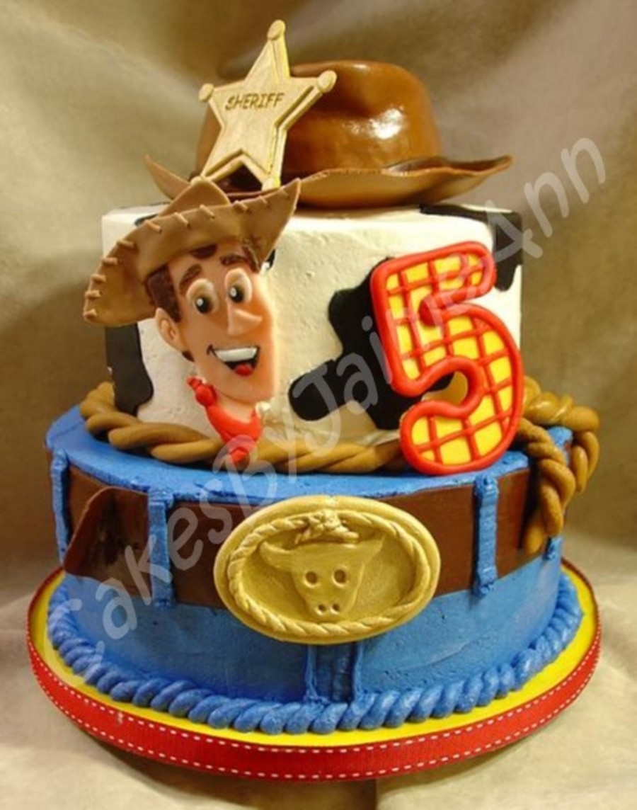 Birthday Cake Toy : Cowboy birthday cake cakecentral