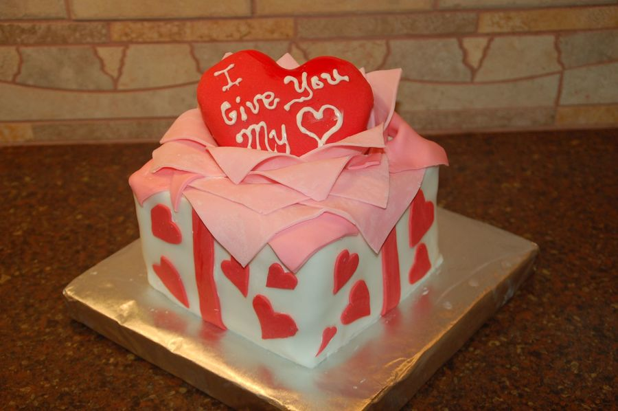 I Give You My Heart on Cake Central