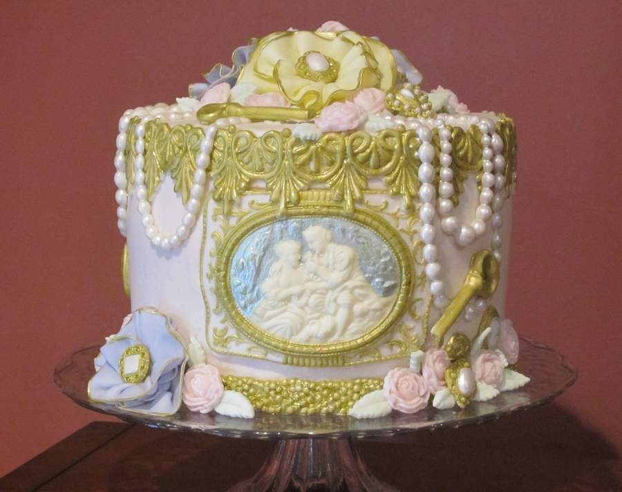Vintage Victorian 50th Birthday Cakecentral Com