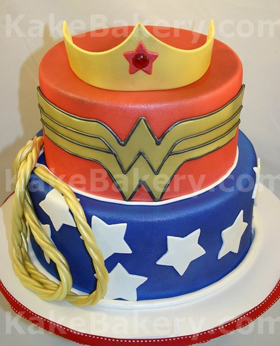 Wonder Woman Birthday Cake on Cake Central