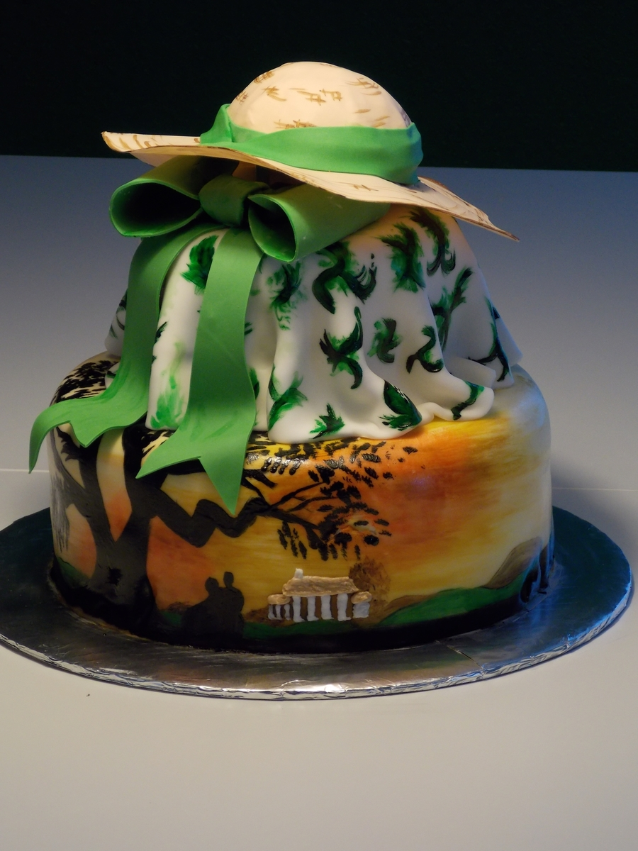 Gone With The Wind Cakecentral Com